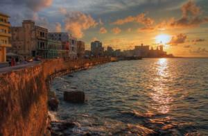 Architecture Malecon Habana