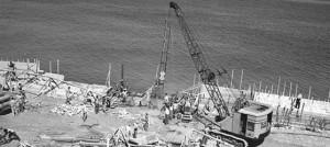 Construction Malecon Havana