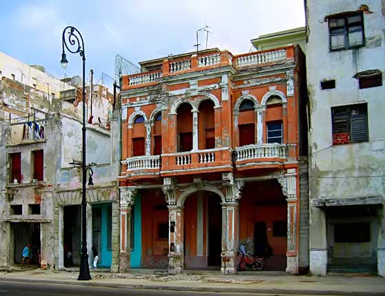 Old Architecture Malecon
