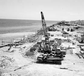 Malecon Havana Construction Photo